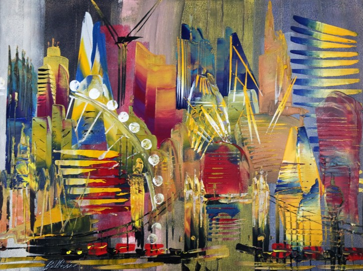 London Cityscape Abstract 643