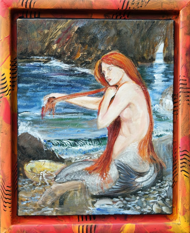 The Mermaid on the beach
