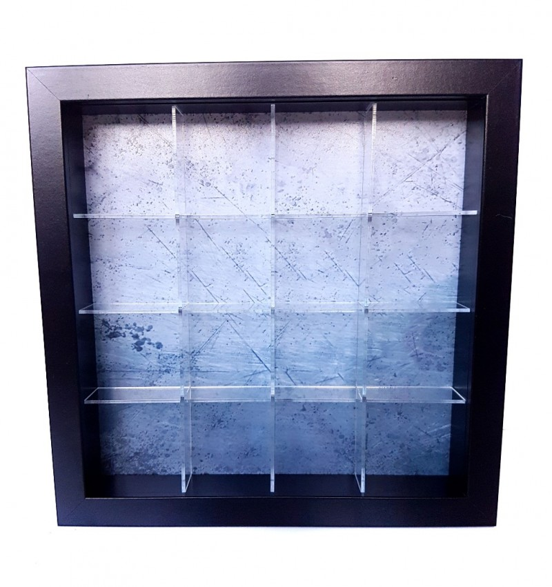 Acrylic Box Shelf System for IKEA ribba frames (23x23cm) 16 ...