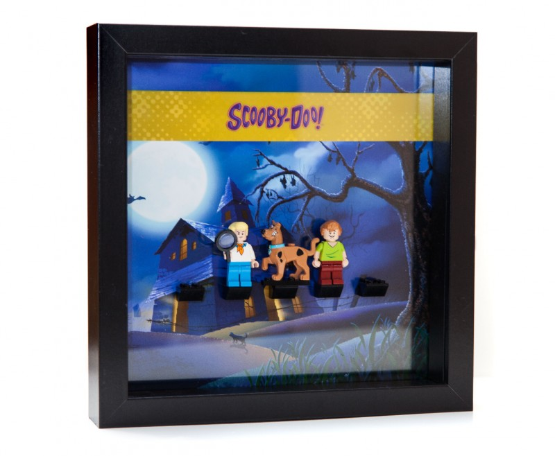 Scooby Doo Frame Display Mount Acrylic Insert Laser Frame
