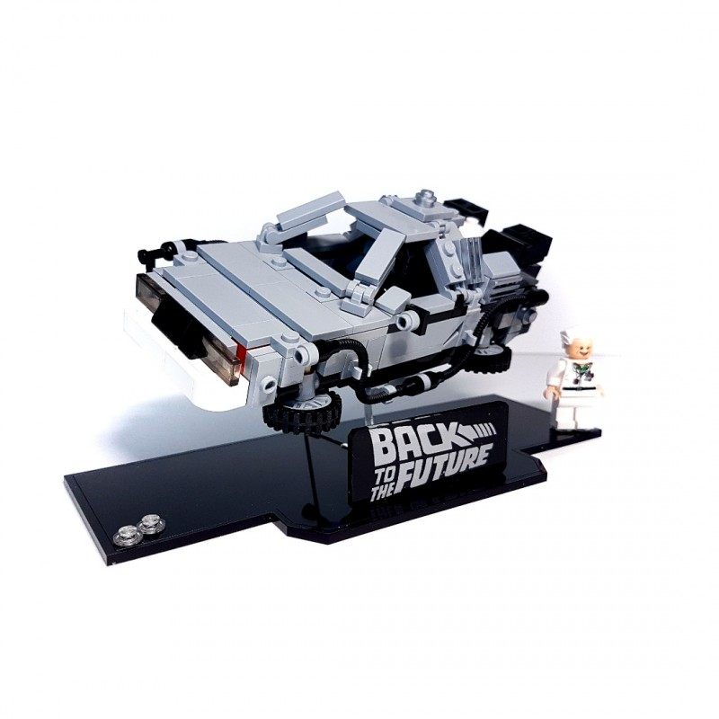Delorean Back to the Future Acrylic Display stand - Laser Frame