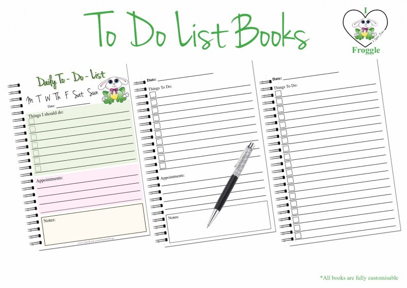 todo list book