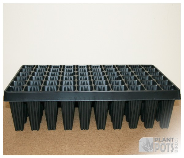 Root trainer tray with 60 cells