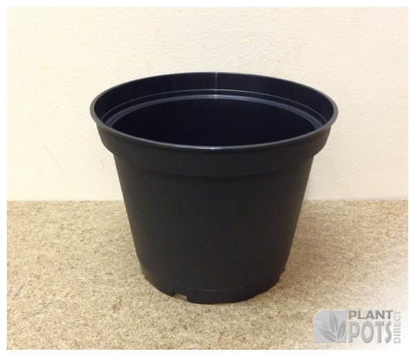 14cm Round injection moulded rigid plastic plant pot (5.5 inch round)