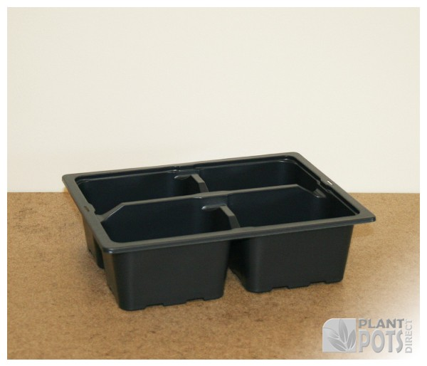 4x Cell pack plastic plant tray