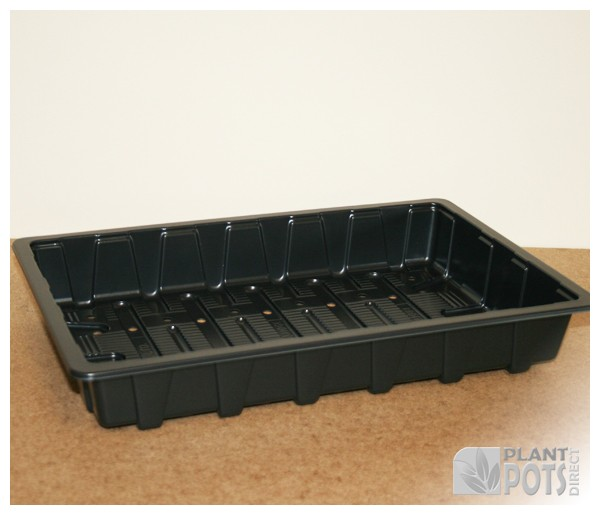 Lightweight full plastic seed tray
