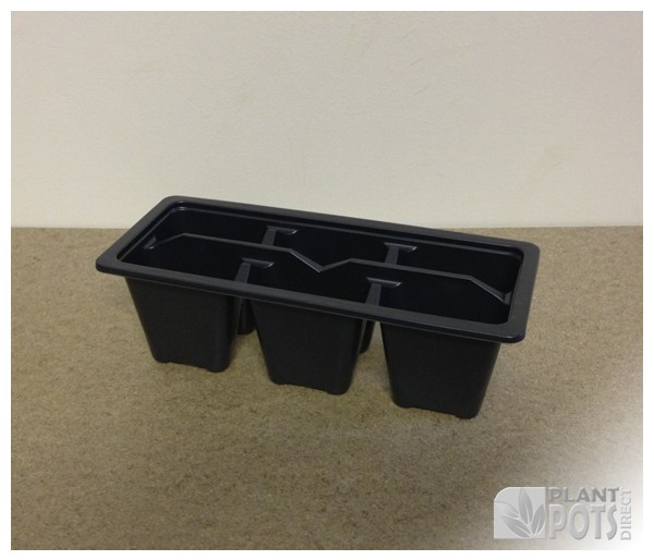 Trolley Pack 6 plastic plant tray
