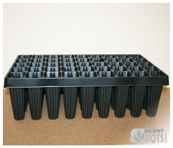 Root trainer tray with 45 cells