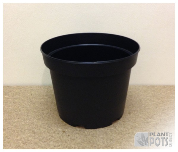 19cm Round injection moulded rigid plastic plant pot (7.4 inch round)