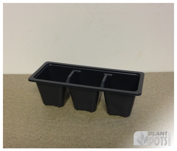 Trolley Pack 3 plastic plant tray
