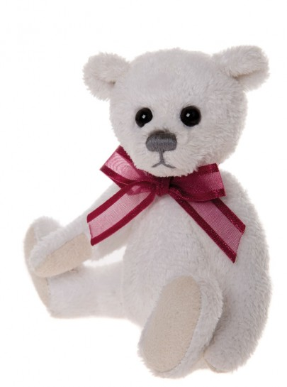 Charlie Bear Cheeky Keyring Satin