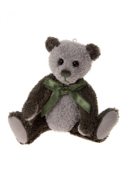 Charlie Bear Cheeky Keyring Tweed