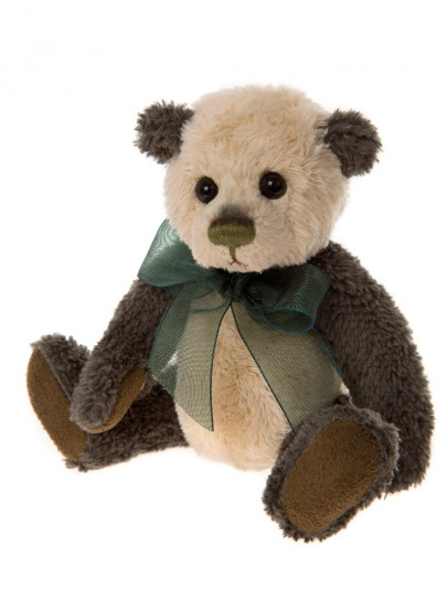 Charlie Bear Cheeky Keyring Plaid