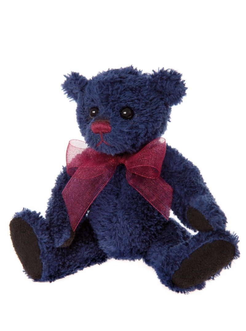 Charlie Bear Cheeky Keyring Denim
