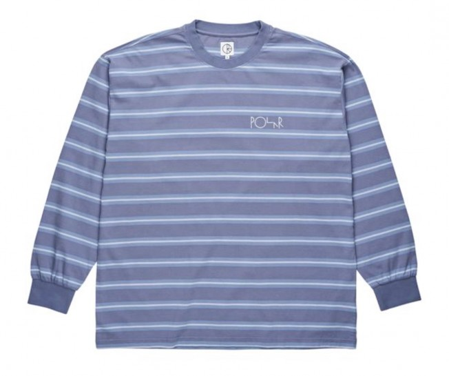 POLAR SKATE CO - '91 LONGSLEEVE - SKY BLUE