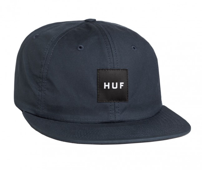 HUF - British Millerain 6 Panel - BLACK