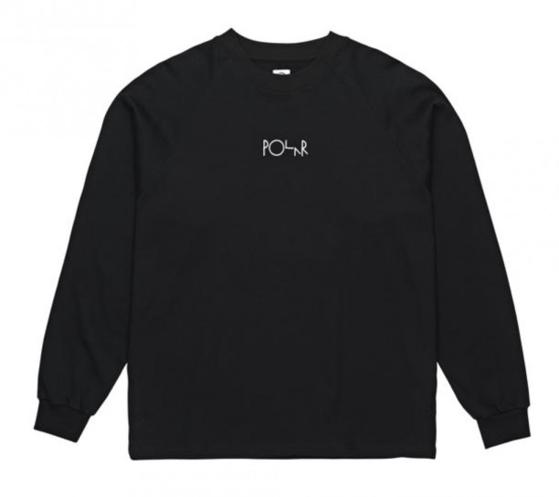 POLAR SKATE CO - DEFAULT LONGSLEEVE - BLACK