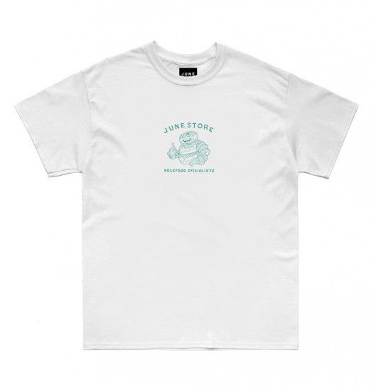 JUNESTORE - HOLE-FOOD SPECIALIST - WHITE / GREEN