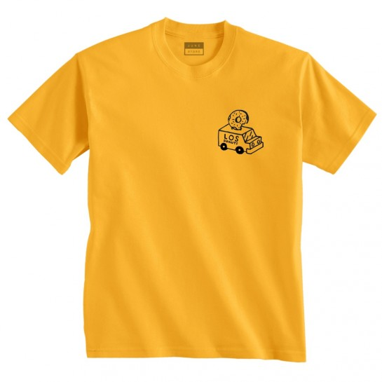 LOS DONUTS - TRUCK TEE - YELLOW