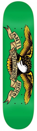 Anti Hero - Classic Eagle Deck Green - 7.81''