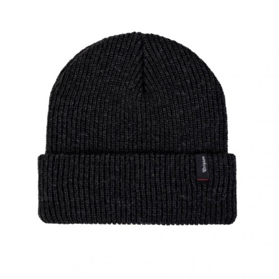 BRIXTON - HEIST BEANIE - WASHED BLACK