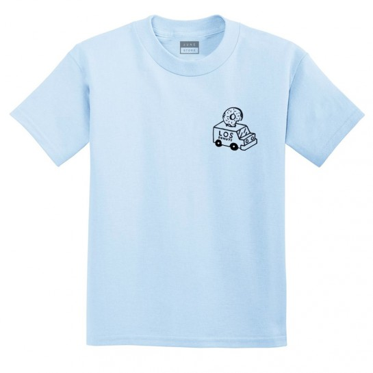 LOS DONUTS - TRUCK TEE - BLUE