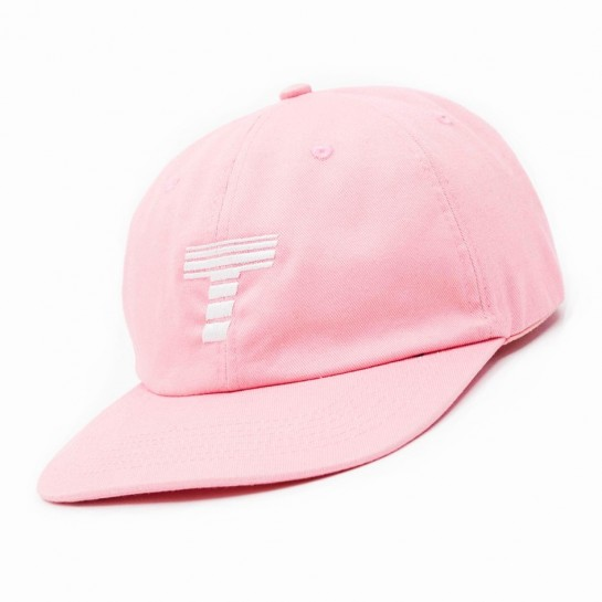Theobalds Cap Co. - Athletics 'Away' Six Panel Baby - Pink / White