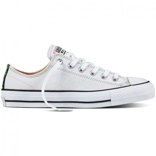 CONVERSE - CTAS PRO - OX WHITE / HYPER ORANGE