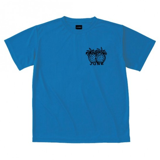 JUNESTORE - PINNAPPLE TEE - DUST BLUE
