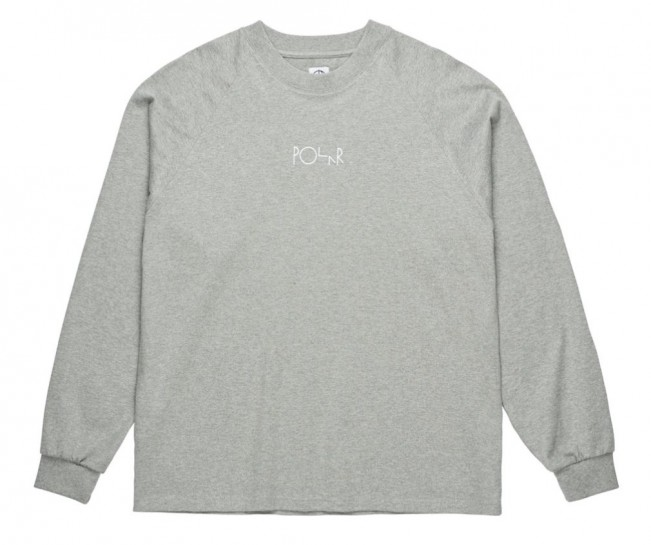 POLAR SKATE CO - DEFAULT LONGSLEEVE - GREY