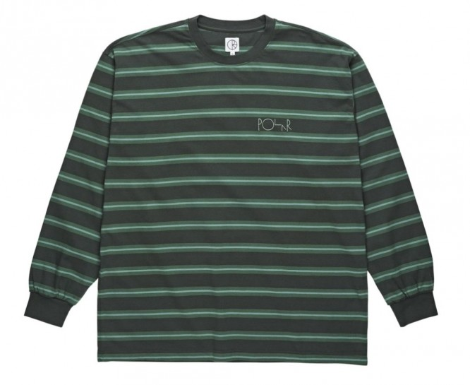 POLAR SKATE CO - '91 LONGSLEEVE - GREY GREEN