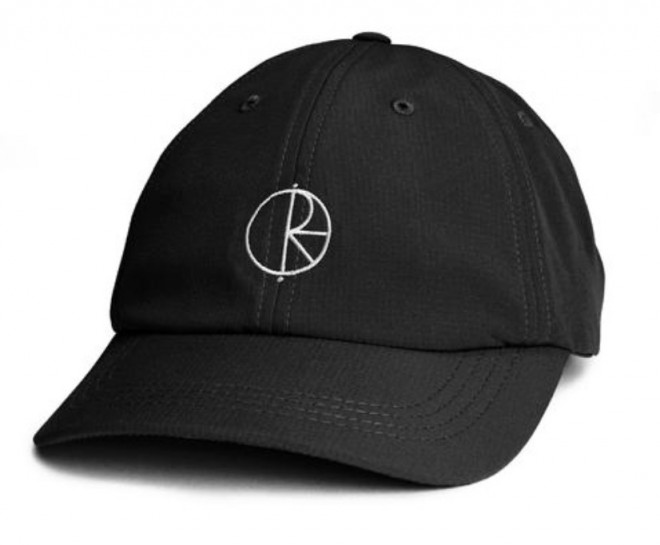 POLAR SKATE CO - CAMPER CAP - BLACK