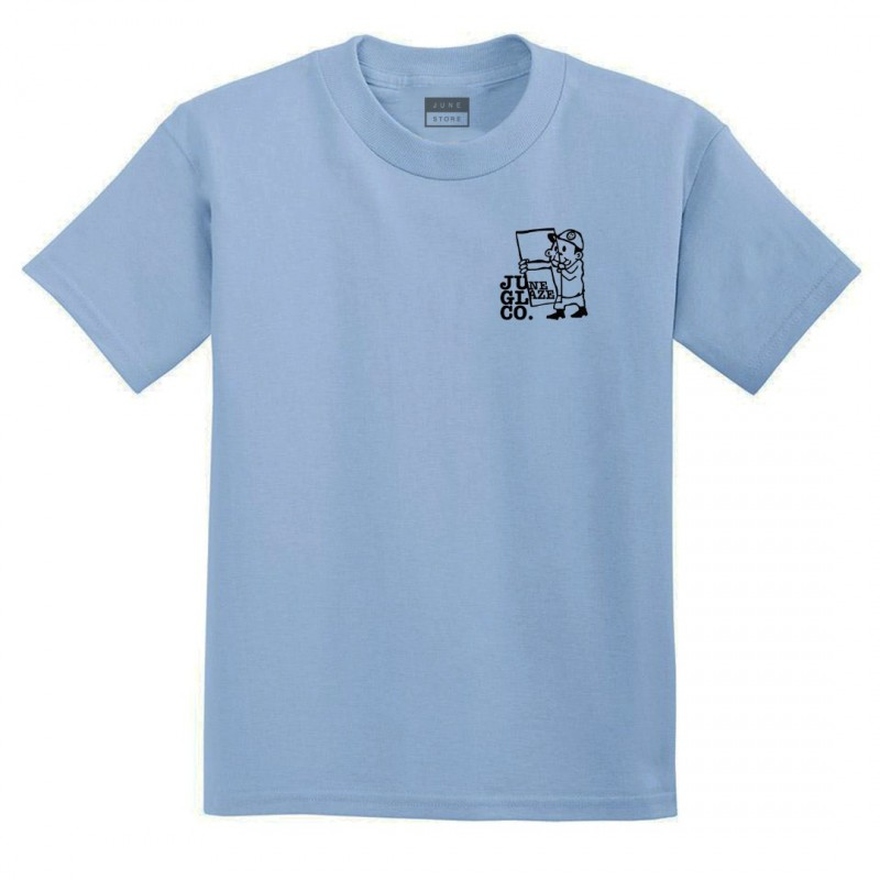 JUNE STORE - GLAZE CO TEE - BLUE