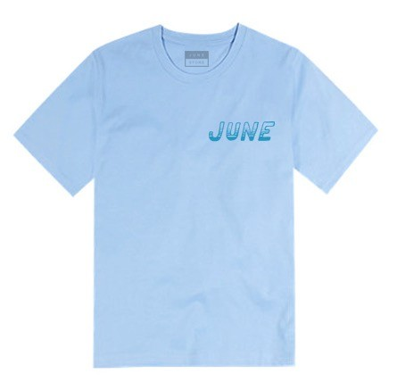 JUNE STORE - TIDE LOGO - BLUE / BLUE