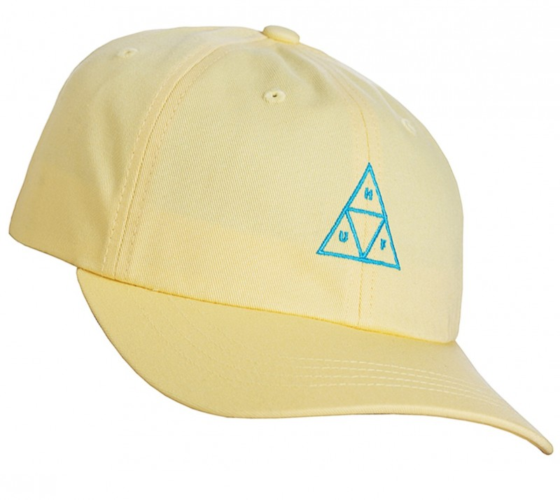 HUF - TRIPLE TRIANGLE 6 PANLE CAP - BANANA