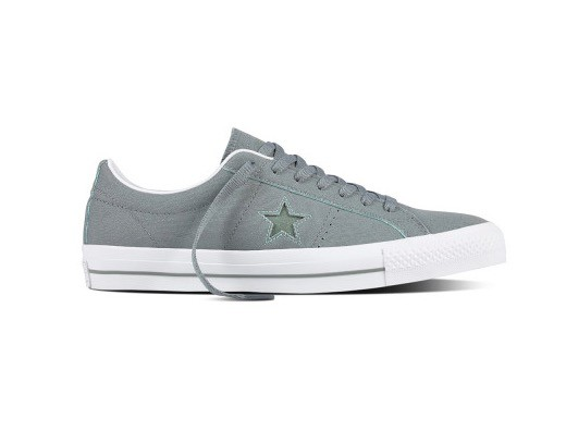 CONVERSE - ONE STAR -  CAMO / GREEN GLOW