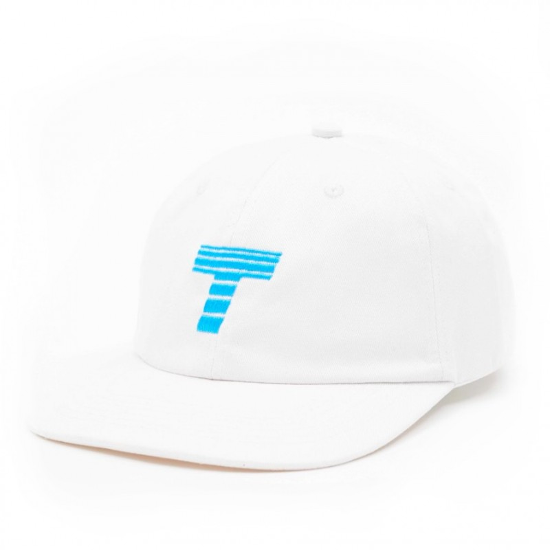 Theobalds Cap Co.  - Athletics 'Home' Six Panel - White / Blue