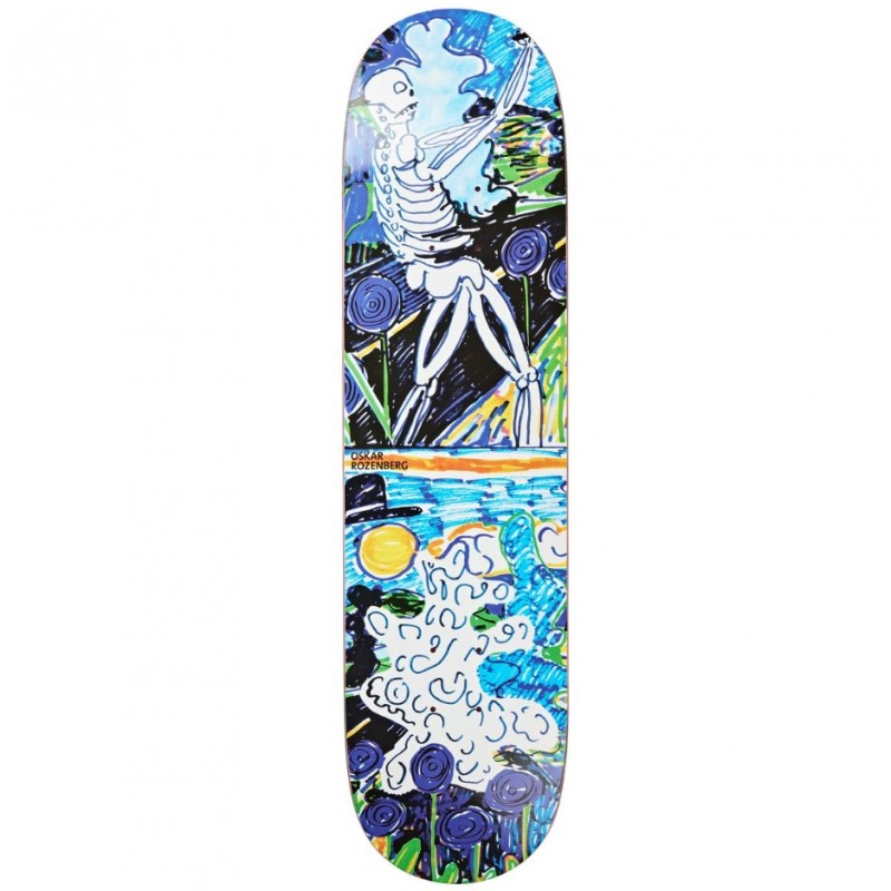 POLAR SKATE CO - OSKAR ROZENBERG - SKELETON - 8.25''