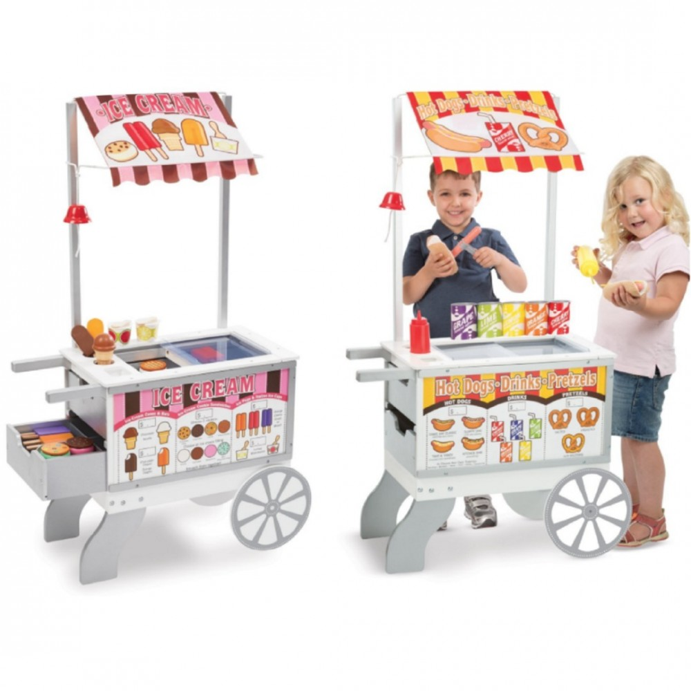 Melissa Doug Hot Dog Cart