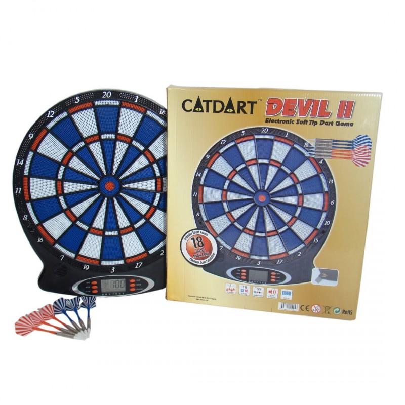 Electronic Dart Board Devil Ii Game And Toy