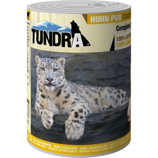 Tundra, cat food, chicken