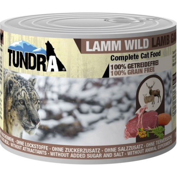 Tundra, Lamb + Venison, taurine, grain free, cat food