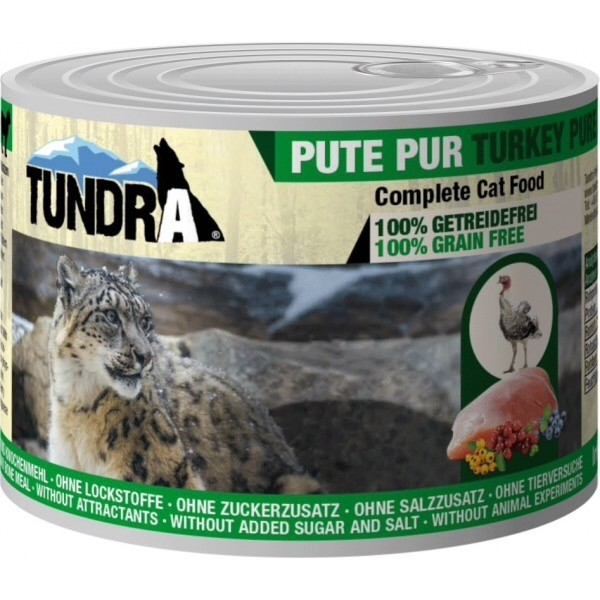 Tundra, turkey pure, taurine, cat food,