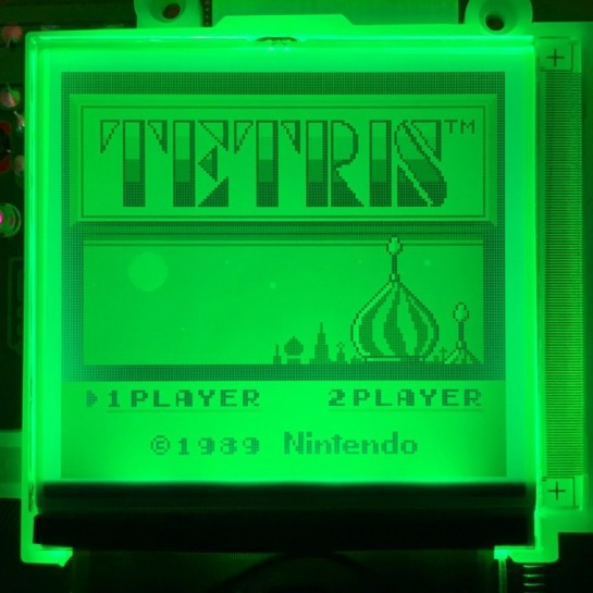 Green GameBoy Backlight