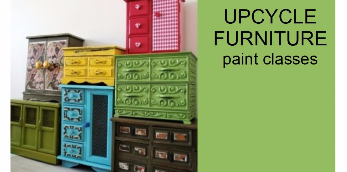 Book a furniture paint class