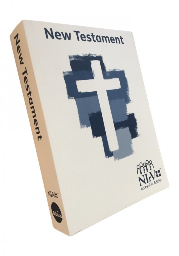 NIrV Accessible NT Bible - Paperback