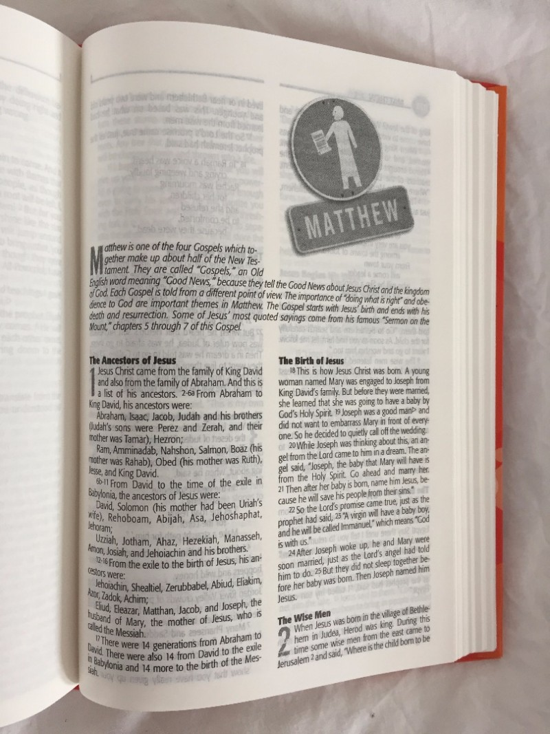 Urban Saints Youth Bible - inside page