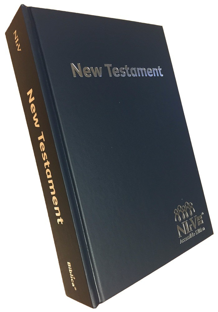 NIrV Accessible Edition New Testament - Hardback