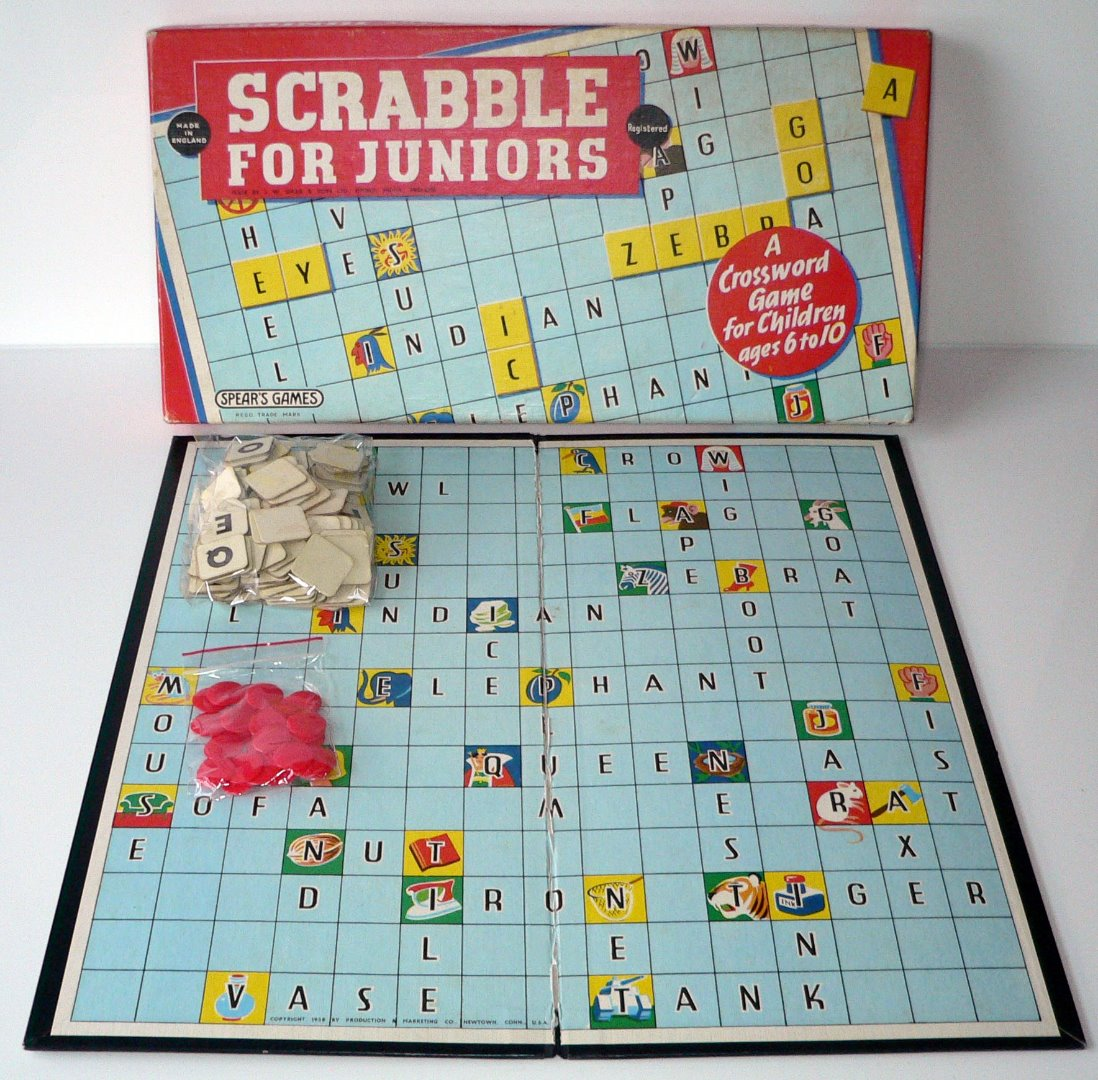 mattel scrabble cards instructions