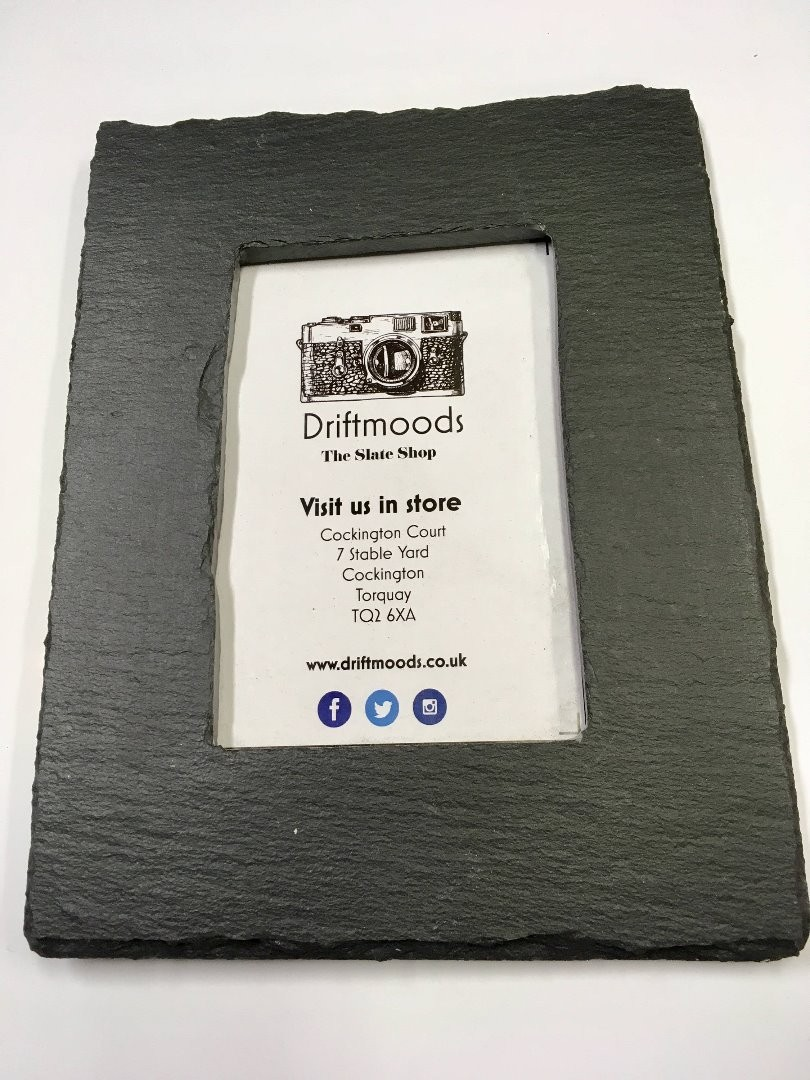 Slate picture frames 4x6